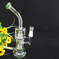 glass decor - Cheap Bong Sale Birdcage Percolator Hookahs inches Glass Smoking Bongs mm Joint Free Bowl Nail Home Decor Narghile Dab Rigs