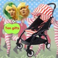 baby stroller deliveries - In stock fast delivery Super Light baby stroller folding light type trolley black frame babyyoya travel stroller