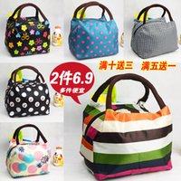Wholesale Factory direct New Oxford waterproof canvas portable lunch box lunch bag Mummy packet spicy Shoulin handbags small bag ZST01