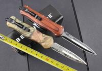 Wholesale Bench made Infidel Tactical tool camping knife tactial tool pocket knife BM42 Black Nylon Sheath camping survival knives
