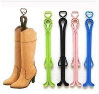 Wholesale Women deodorize Boot Shoe Tree Stretcher Boot holder With Handle Stop Boots Fall Down