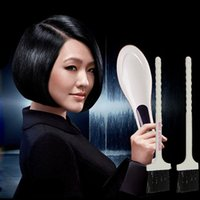electric comb - 2015 Hot Sale Professional Straightening Irons Comb With LCD Display Electric Straight Hair Comb Straightener Iron Brush EU US Plug