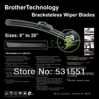 beam blade wipers - For Grand Vitara PAIR quot quot OEM BRACKETLESS FLAT BEAM WINDOW WINDSHIELD WIPER BLADES WIPERS CAR STYLING