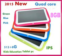 screen games - DHL Cheap Nice RK3126 quad core Kids tablet pc GB ROM inch Children Tablet pc WiFi apps for children study games PB7 D3