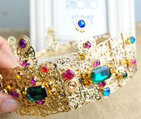 crowns and tiaras - Goldon Crowns And Tiaras New Butterfly wedding accessories tiara hair Girls Bridal Headband Tiaras For Wedding Crowns