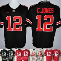 authentic ohio state jerseys - Factory Outlet Authentic ohio State Buckeyes Playoff Men s Cardale Jones Football Jersey Red White Black sports ncaa College Jerse