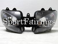 headlight assembly - Headlight Assembly Fit For Yamaha R1 YZF1000 Year Sportbike Motorcycle Headlamp Clear Lens