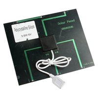 Wholesale 6v w MA Solar Panel USB Travel Battery Charger For IPhone Mobile Phone order lt no track