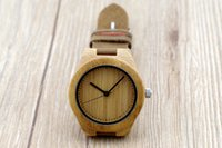 wood watch - 2015 Casual Classic Wooden Watches simply luxury wristwatches japanese miyota movement leather strap wood watches for women gift box