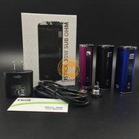 vapors - Authentic Ismoka Eleaf Istick W Kit mAh E Cigarette Variable Voltage Wattage Sub Ohm Vapor Mods Beat Cloupor Mini W IPV Mini Box Mod