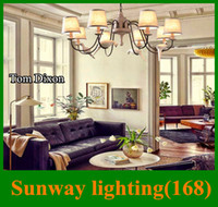 Wholesale Celling light Tom dixon beat newly Pendant Lamps bird model American style crystal chandelier for living room Christmas lights