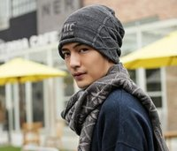 add yarn - Factory direct sale man han edition nc add hair thickening hat knitting hat in winter to keep warm in baotou