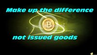 Wholesale Make up the difference not issued goods