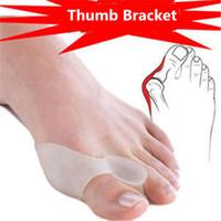 Wholesale Hallux Valgus Corrector Safe Medical Silica Gel Toe Fisioterapia Tacones Big Toe Separator Pro Bunion Guard Feet care Corretivo
