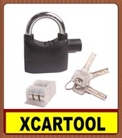 benz scooter - New arrival Alarm Padlock Lock for Motorcycle Scooter Quad Bike