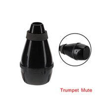 Wholesale Trumpet Mute Silencer Plastic Practice Light weight Designed Easy to Install Trumpet Accessories