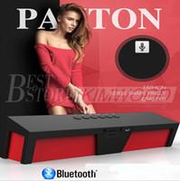 Radio FM Bluetooth HIFI extérieure Subwoofer Grande Puissance USB Amplificateur Stereo Sound Box avec microphone livraison gratuite