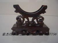 Wholesale African mahogany wood ebony tap root mahogany stand all kinds of jade bracelet set