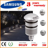 spotlight floor lamp - DHL IP67 W V LED Underground Light Lamp Outdoor Lighting Recessed Spotlight Fixture Kit Patio Pavers Sidewalk Floor Deck Light Luminaire