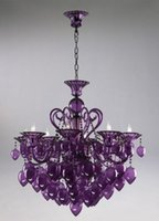 aqua led lights - Bella Vetro Lights quot Aqua Blown Glass Chianti Chandelier Blue Purple Red Black
