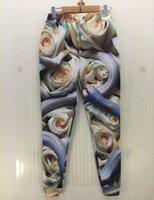 w1209 [Magie] Cyan bleu serpent blanc Rose joggeurs entiers imprimer pantalons 3D de haute qualité hommes / femmes pantalons casual taille S-XL 28 livraison gratuite