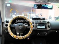 abs tours - car accessories Mickey mouse cartoon car steering wheel cover WD M47928 cover tour