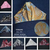 Wholesale Assorted Mens Pocket Squares Hankies Hanky Handkerchief Large Size Accessory Neckties Ties Multi Color CM