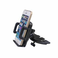 Wholesale Universal Degree Car Mount CD Slot Stand High quality Holder for Phone MP3 MP4 Cell Phone GPS