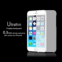 Wholesale 0 mm Super Ultra Thin Slim Matte Frosted Transparent Clear Soft PP Cover Case Skin for iPhone inch iPhone Plus inch