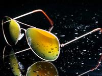 Cheap COOL ! 10colors women Classic sunglasses The sun glasses reflective color film sunglasses Multi-color sunglasses #413