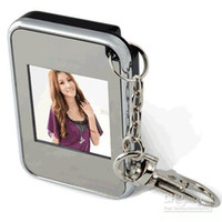 Wholesale Christmas gift Mini Keychain key chain inch Digital Photo Frame dropshipping