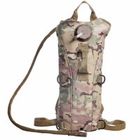 canvas water bag - 2015 Camping Military Tactical water Bag Canvas Campus Travel Sport L Backpack With Water Bladder Rucksack nylon DHL Fedex