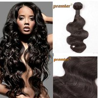 Wholesale Premierlacewigs A Body Wave Virgin Brazilian Human Hair Weft Mix Length Aailable Natural Color