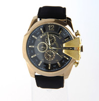 Wholesale 2014 international clothing brand men quartz watches men s luxury brand watches men leather quartz watch