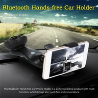 Wholesale Universal Bluetooth Car Holder BT8121 Car Holder Bluetooth Handsfree and Car Charger in Functions Top Grade Car Holders