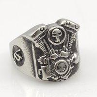 Cheap engine ring Best skull jewellery