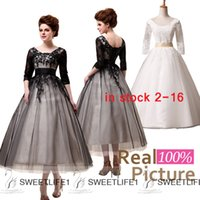 Cheap Real Photos Prom Dresses Best Scoop Tulle Tea Length In Stock 2015