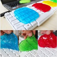 gel keyboard - New Magic Dust Cleaning Compound Slimy Gel Cyber Super Clean Wiper Gum Rubber For Keyboard Laptop Shoes Car Mouse MacBook Computer Cleaners
