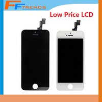 Wholesale for iPhone S LCD Display Touch Screen Digitizer Full Assembly with Earpiece Anti Dust Mesh Free Installed Low Price