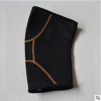 Wholesale 400pcs CCA3569 New Arrival Free Size Unisex Black Copper Fit Pro Series Performance Compression Knee Sleeve With Zipper With Retail Package