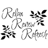 bathroom wall pictures - Relax Refresh Renew wall decals vinyl stickers home decor living room wall pictures waterproof wallpaper for bathrooms