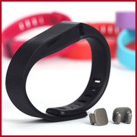 home goods - Hot Sale Good Smart Bracelet Replacement Rubber Band Fitbit Flex Wireless Activity Bracelet Wristband with Metal Clasp Colors