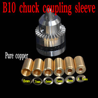 Wholesale Quality B10 drill chuck Applicable to motor shaft diameter mm mm for mini pcb drill dremel driver Press tool