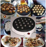 Wholesale 2015 Brand new piece Octopus Balls Pan Takoyaki machine octopus ball machine takoyaki mould V octopus grill plate Free ship
