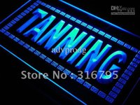 sun tan lotion - j285 b Tanning Shop Sun Lotion NEW Neon Light Sign