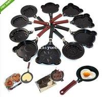 Wholesale Various Mini Non Stick Egg Frying Pancakes Kitchen Pan Housewares Cauldron