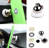 Wholesale Fashion Hot Universal Car Mount Sticky Magnetic GPS Stand Holder For iPhone Plus Samsung