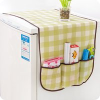 bellows covers - One Single Door Fridge Multifunctional Cotton Dust Cover Rerigerator Bellows Storage Bag
