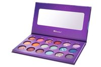 palette 18 color - 1pcs Styler Makeup BH Cosmetics Galaxy Chic Color Baked Eyeshadow Palette