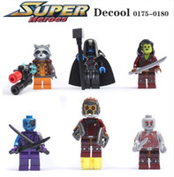 rocket - Marvel Guardians Of The Galaxy Star Lord Rocket Camora Building Bricks Blocks Sets Figures Minifigures Learning Toys Children Christmas Gift